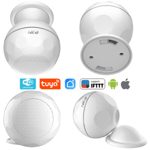 NEO COOLCAM Smart WiFi PIR Motion Sensor with magnet bracket Home Alarm System Support IFTTT Smart Home Automation