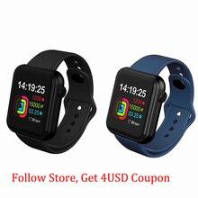 1.4-дюймовый SmartWatch для женщин, мужчин умный браслет Фитнес-трекер телефона силиконовый ремешок наручные часы для Андроид iOS
