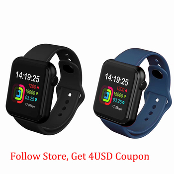 1.4 Inch Smartwatch For Women Men Smart Bracelet Fitness Tracker Phone Silicone Strap Watches For Android IOS