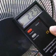 Ручной ЖК-цифровой детектор электромагнитного поля излучения EMF профессиональный измеритель Дозиметр Тестер инструмент для измерения радиации