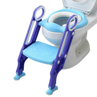 New Design Unisex Baby Child Potty Toilet Trainer Seat Step Stool Ladder Adjustable Training Chair New Year Gift Hot Sale N30