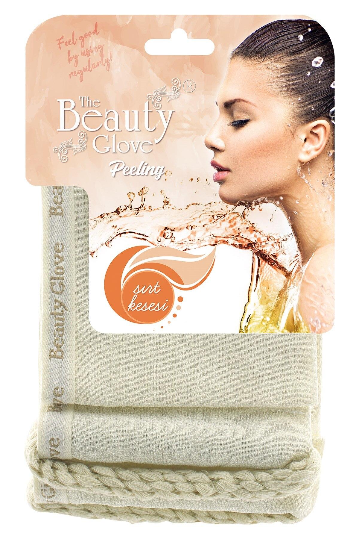 The Beauty Glove 100 Floss Exfoliating Bath Mitt For Back