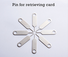 Sim Card Tray Ejector Eject Pin Key Removal Tool for iPhone iPad Samsung Galaxy for Huawei xiaomi Tablets Sim 1Pcs Accessories