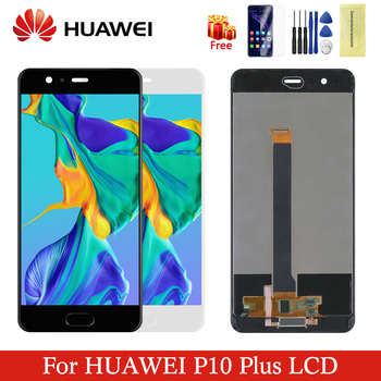 "Original For 5.5"" Huawei P10 Plus LCD Display + Touch Screen Panel Digitizer Assembly Replacement For Huawei P 10 Plus Screen"