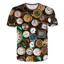 Мужская Веселая футболка летний тренд брендовая кофта с вырезом
