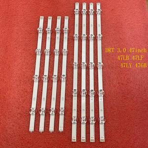 Image 1 - 8 قطعة/المجموعة LED الخلفية قطاع ل LG innotek DRT 3.0 47 بوصة ab 6916L 1715A 1716A 47LB653V 47LB652V 47LB650V 47LB631V 47LB630V