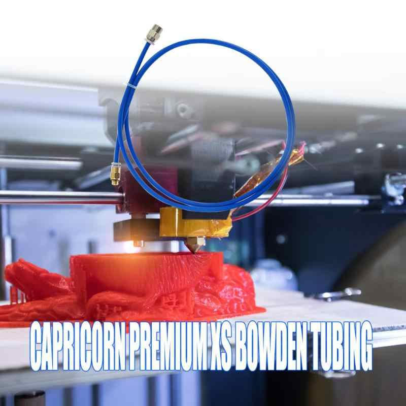 1m Capricorn Premium XS Bowden tubo de tubo 3D piezas de impresora + Accesorios rápidos Diámetro Interno 1.95mm ±0. 05mm 1m de longitud