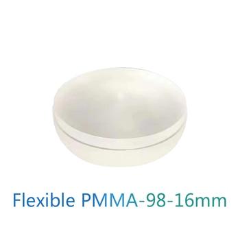 Flexible PMMA A0/A1/A2/A3/B1/Clear 98mm Dental Lab Material Modeling Blank Open System Flexible PMMA Acetal Blocks цена 2017