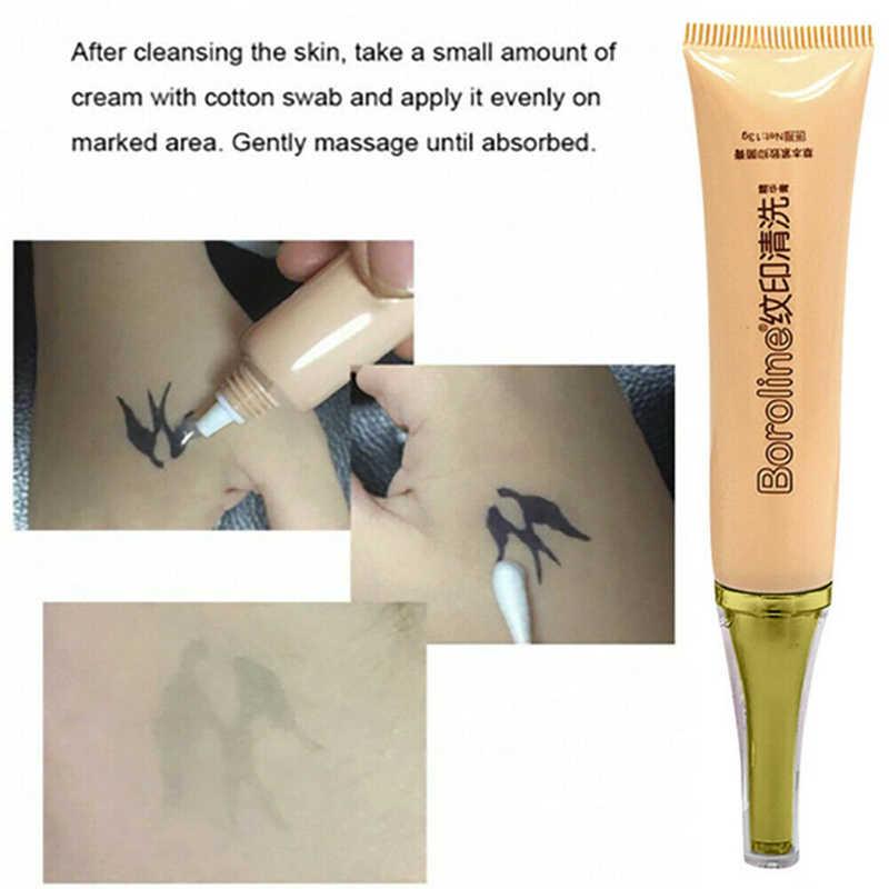 Dövme Baskı temizleme kremi Ağrısız Kaş Eyeliner Cilt Dövme Temizleme Dövme Renk Solmaya Krem Ortadan Kaldırmak Cilt Işaretleyici