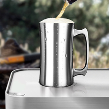 Outdoor 304 Stainless Steel  Double Wall Insulated Cup Camping Water Bottle Vacuum Flask Household Coffee Tea Beer Mug