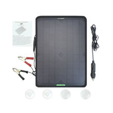 цена на Universal High Efficiency 12V 10W 7.5W 5W Portable Solar Power Panel Car Battery Charger Marine Boat Outdoor Auto Charger Backup