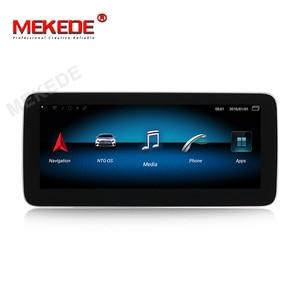 Image 2 - 1920*720 Android10 4G + 64G רכב GPS ניווט נגן DVD עבור מרצדס בנץ CLA כיתת W117 כיתה W176 GLA Class X156 2013 2018