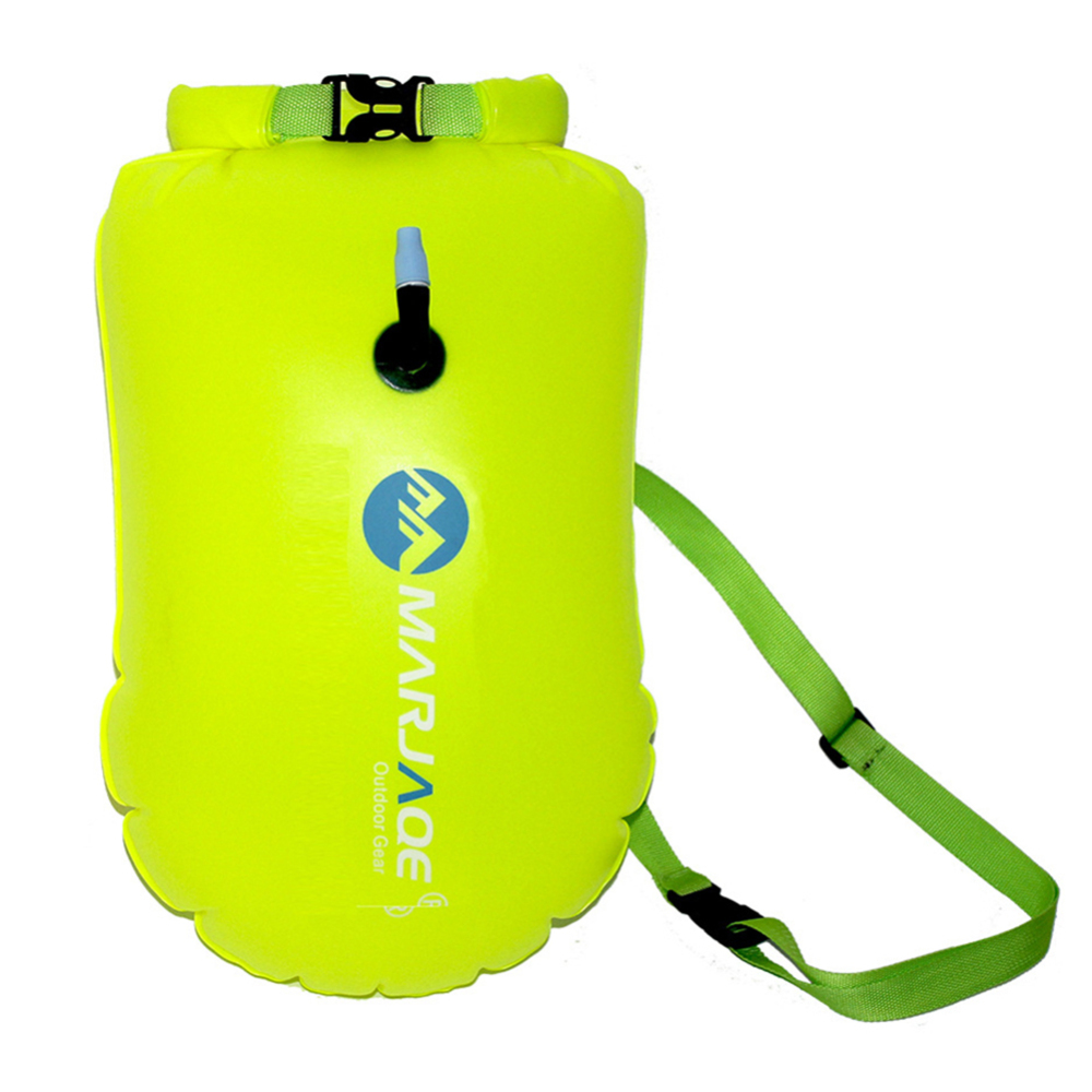 72*37cm Thickened PVC Inflatable Floating Bag Outdoor Waterproof Storage Float Rescue Swimming Bag Lifebuoy Prevent Drowning