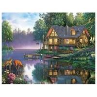 DIY Digital Oil Painting 40 * 50CM Hand painted Home Decoration Painting Oil Painting 40 * 50cm TCR3005