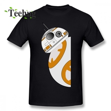 Latest Men BB-8 T Shirt Star Wars Tee Leisure Unique Quality Cotton For Male Tees