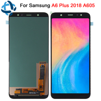 100% tested For Samsung Galaxy A6 Plus 2018 LCD display Touch Screen Digitizer Assembly A605 A605fd replacement A6 Plus A6+ lcd