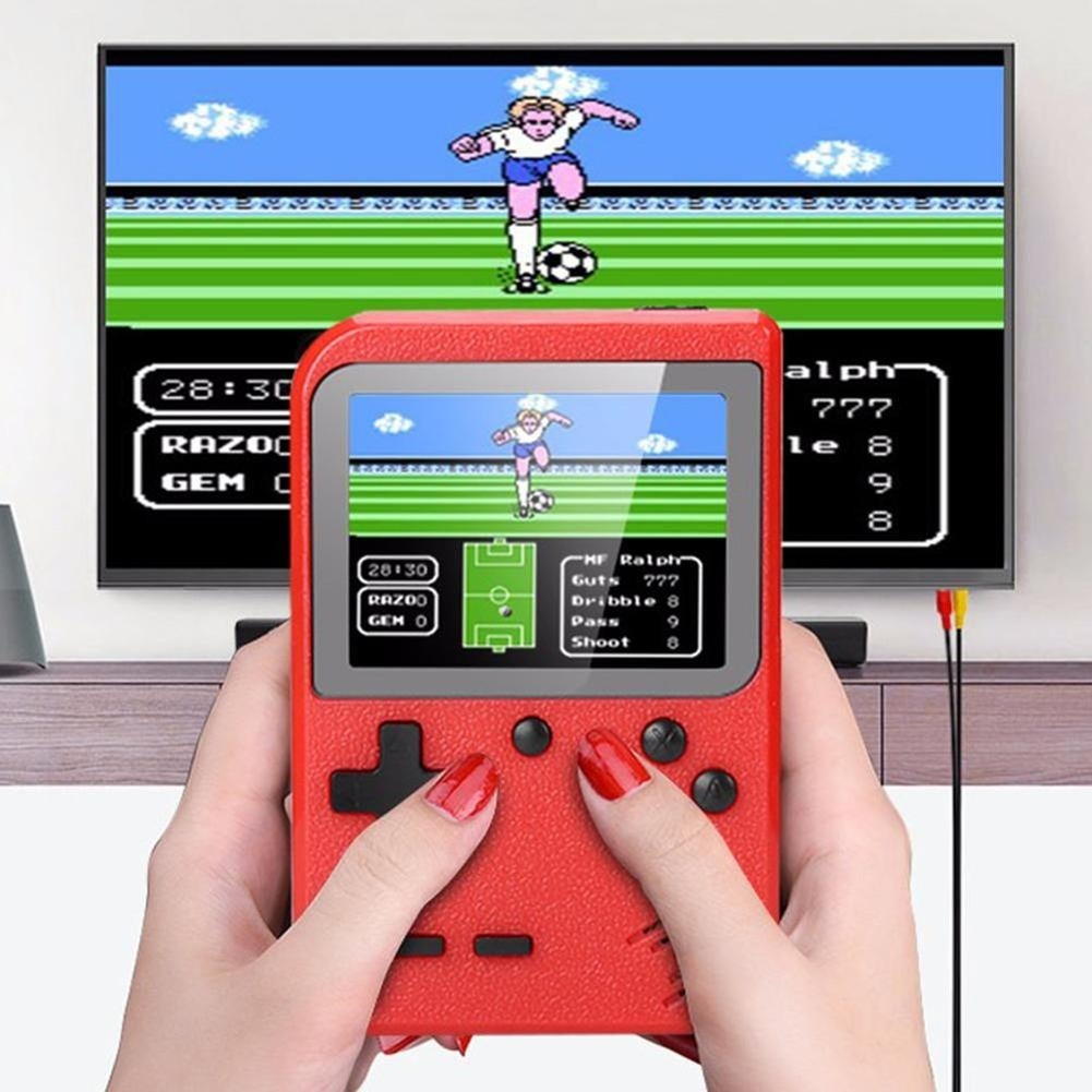Handheld Retro Game Console Built-in 400 Games Player Console Game Tetris 8 Bit Mini Pocket Relax Player For Kids