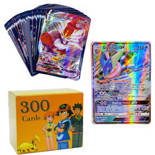 50-300Pcs Pokemon 200 V MAX 300 GX Best Selling Children Battle English Version Game Tag Team Shining Vmax TOMY Pokemon Cards