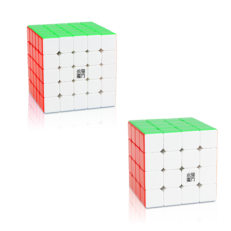 Original YJ Zhilong Mini 3x3 M 4x4 M 5x5 M Magnetic Speed Cubes Small Size YongJun Zhilong Magico Cube Puzzle Toys Magnetic Cube 12