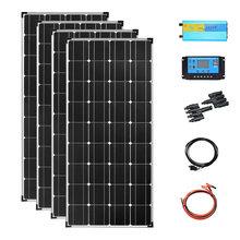 Комплект системы солнечных панелей 480 Вт полный Кемпинг 400