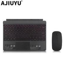 Клавиатура для microsoft поверхности Go bluetooth-клавиатура для планшета 10 дюймов Тетрадь компьютерный корпус Беспроводной мышь go крышка