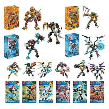 Xsz 815-2 2020 New Bionicle Robot Chimo Building Block Toys Gifts Action Figure Compatible With Lepining Chimaed Cragger image