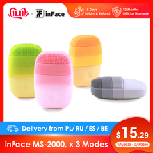 inFace Smart Sonic Clean Electric Deep Facial Cleaning Massage Brush Wash Face Care Cleaner Rechargeable