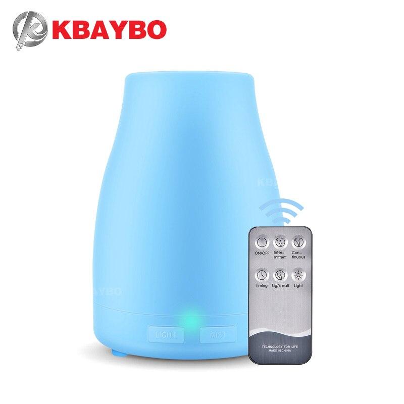 KBAYBO 300ml Aroma Difusor de Aromaterapia Difusor do Óleo Essencial Umidificador de Ar Purificador com 7 Cores Mudando Lâmpada LED para Casa