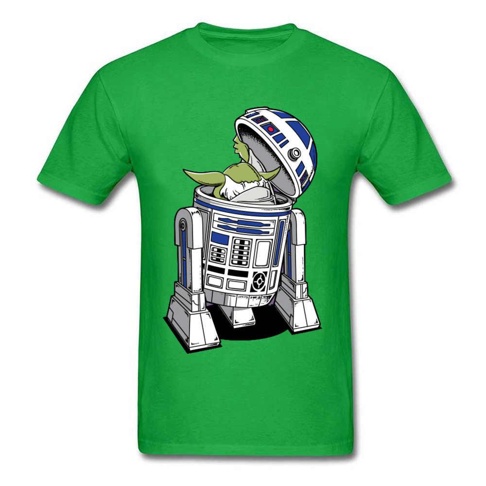 スターウォーズ Tシャツマスターヨーダ Tシャツ男性ヒップホップストリート誰が後ろの男綿 100% Tシャツおかしいデザイントップス & Tシャツ