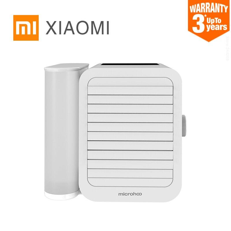Мини вентилятор для кондиционера XIAOMI MIJIA Microhoo, персональный портативный USB воздушный кулер, вентилятор без пузырьков для дома|Вентиляторы|   | АлиЭкспресс