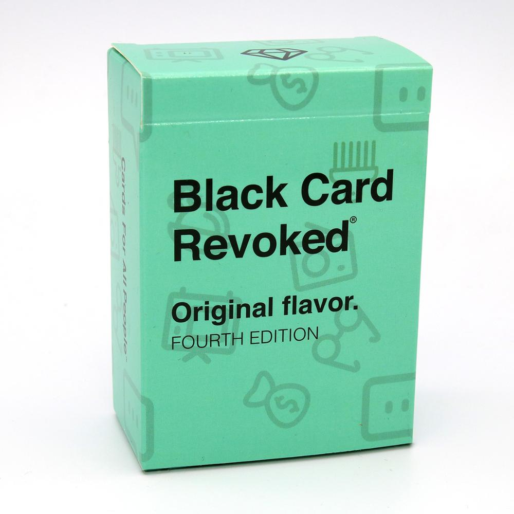 Black Card Revoked Original Flavor Fourth 4 Edition For All People Keep Your Perty Rocking