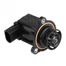 Auto Turbo Turbocompressore Cut-Off Bypass Deviatore Valvola per Audi A3 2.0L L4 2006-2007 06H145710D di Plastica Metallo nero