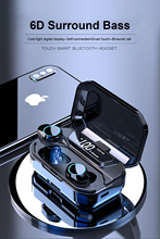 G02 TWS Wireless Earphone Stereo Bluetooth Earphones Handsfree Touch Control Headset For iPhone 11 X XS Max Samsung Huawei
