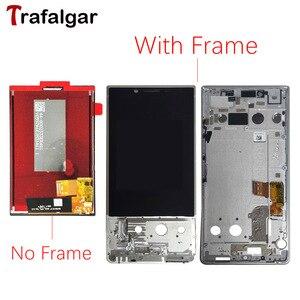 Image 1 - Für BlackBerry Key2 LCD Display Touchscreen Digitizer Montage Key2 Bildschirm Mit Rahmen Für Blackberry Schlüssel 2 LCD Screen KeyTwo