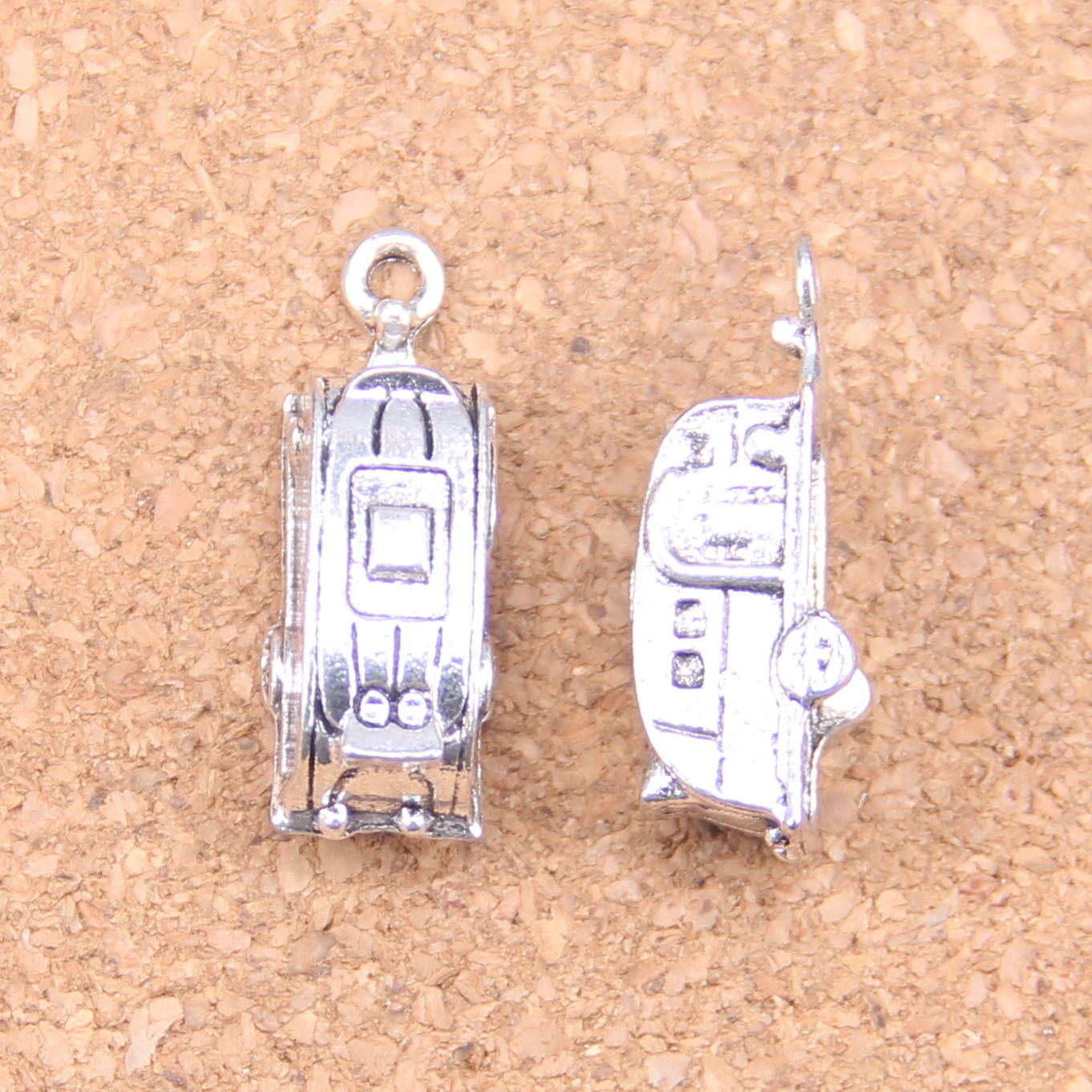 Frank 30pcs Charms Shuttle Trailer Touring 26x7x6mm Antique Pendants,vintage Tibetan Silver Jewelry,diy For Bracelet Necklace Up-To-Date Styling