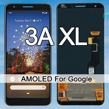 Original Amoled For Google Pixel 3A XL LCD Display Touch Screen Digitizer Assembly G020C G020G G020F Pixel 3AXL LCD Screen