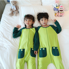 Pajamas Onesies Long-Sleeve One-Piece Baby Kids Children Thin Cartoon Spring Cotton Unisex