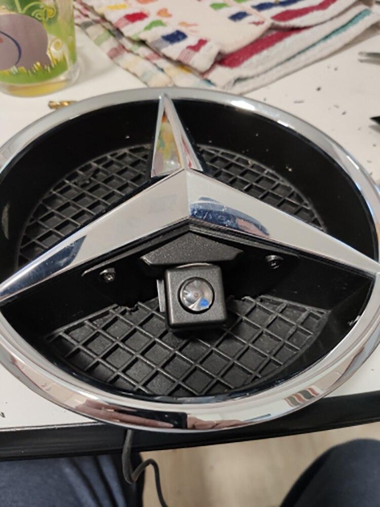 Mark-Camera Car-Logo GLA Vito Night-Vision CCD GLK Mercedes SL HD No for Benz Mercedes/Vito/Viano/..