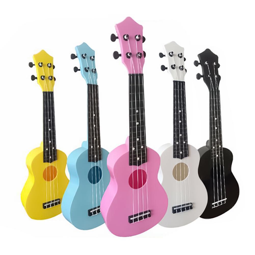 21inch 4 Strings Acoustic Ukulele Small Guitar Kids Beginners Musical Instrument Ukulele Small Guitar Kids Beginners Musical Ins