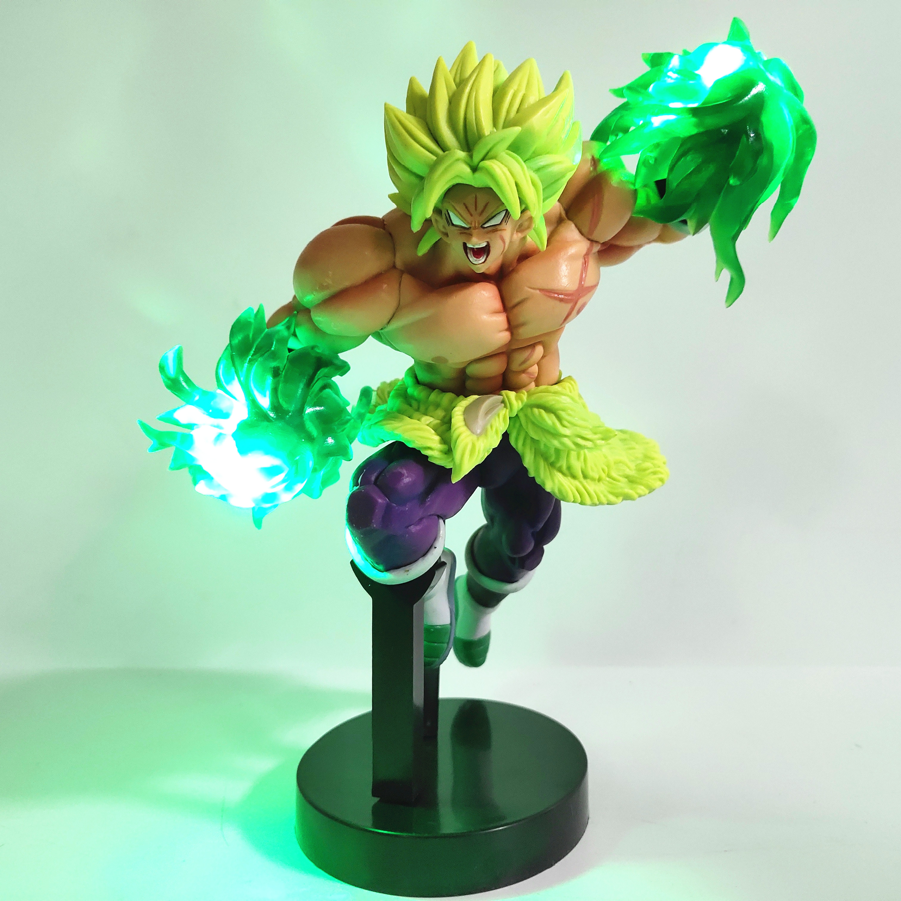 Dragon Ball Z Broly with Led Light Effect Action Figure 21cm 5