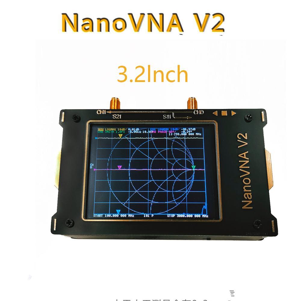 3,2 дюймовый Стандартный анализатор антенны 3G Ve NanoVNA V2