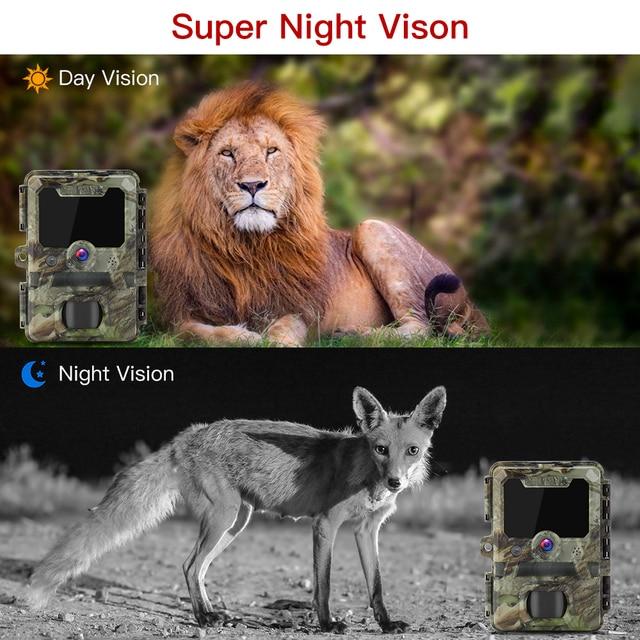 BOBLOV 30MP ghost hunting camera Photo Traps Night Vision Infrared Trail Hunter Camera WildKamera Deer Hunting Camera 1080P 2