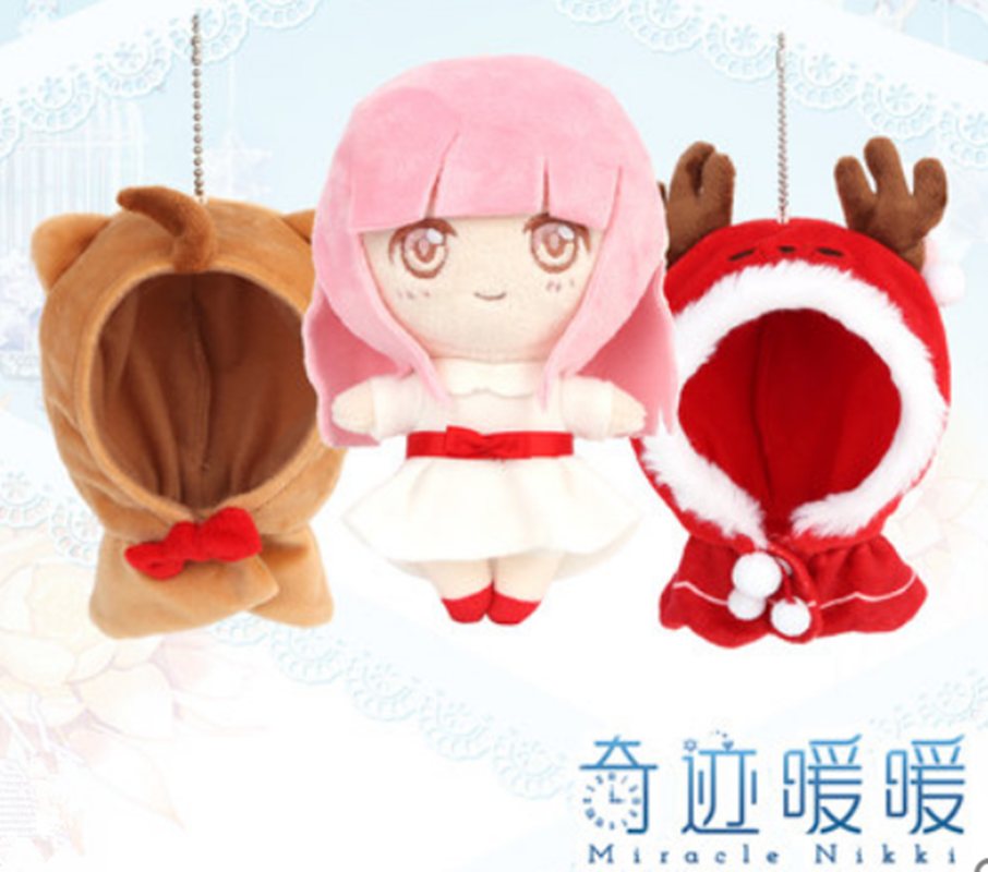 1Pcs Cute Rabbit Plush Yoshino DATE/·A/·LIVE Cosplay Hair Clips Hair accessories