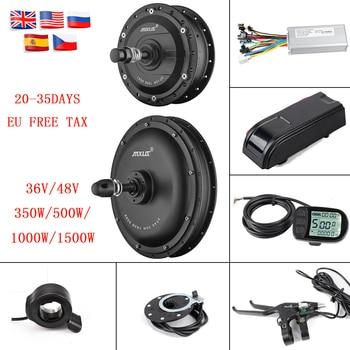 MXUS-Kit de conversión de Bicicleta eléctrica, XF 15F/15R/40, 36V/48V 350W/500W/1000W/1500W, pantalla LCD...