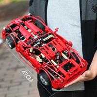 Decool Blocks Technic Racing Car Enzo Ferraring 599 GTB Fiorano Building Bricks Compatible LGSet 8145 Racer Toys Gifts