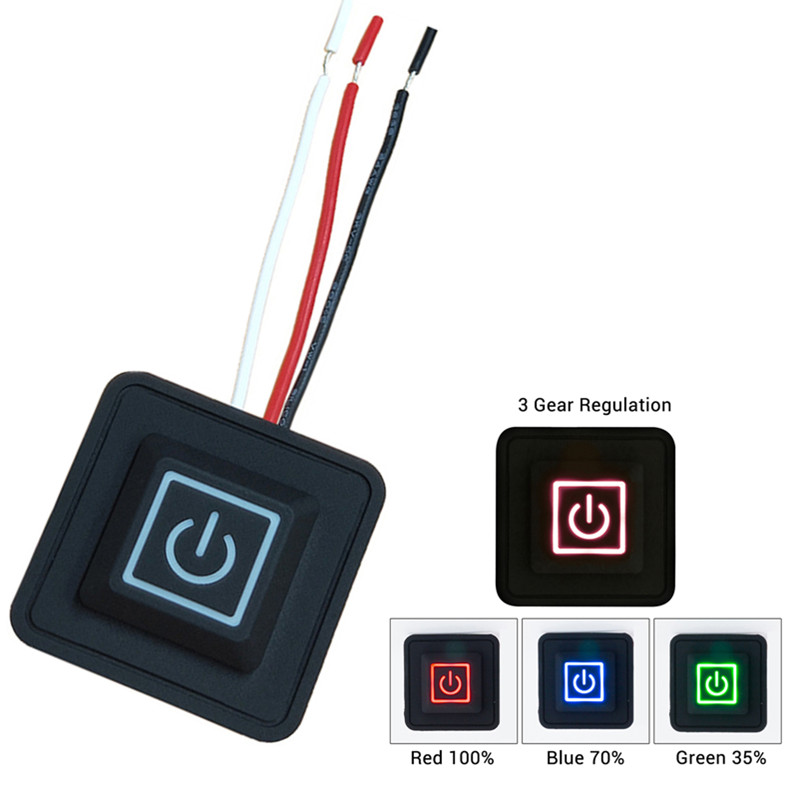 Heating Pants Rheostat Switches Button Switch Silicone Temperature Controller