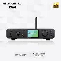 SMSL DP3 DAC ES9018Q2C USB Decoder Amplifier Balanced Digital Bluetooth4.0 LAN Network WIFI DSD Coaxial/Optical DAC Audio AMP