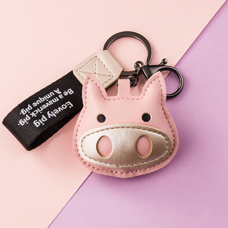 Купить милый брелок в виде свиньи для девочек женские брелоки держатель