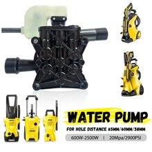 2500W 2900PSI pompa wodna myjka wysokociśnieniowa myjnia samochodowa pompa samozasysająca czyszczenie opryskiwacz myjnia samochodowa pistolet pompa