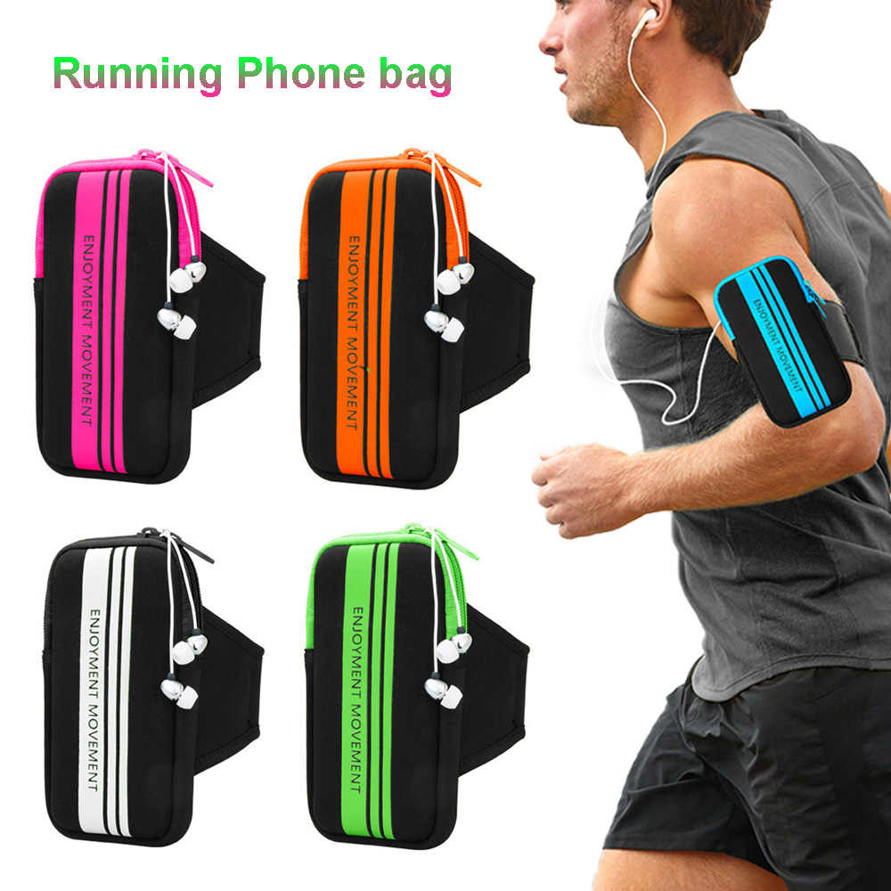 Sport Running Gym Cover Phone Bag Voor Xiaomi Mi 9T 9 8 Se A3 A2 Lite Max Mix 3 2S 2 Redmi 6A Note 8 7 6 5 Pro Ai Arm Band Case
